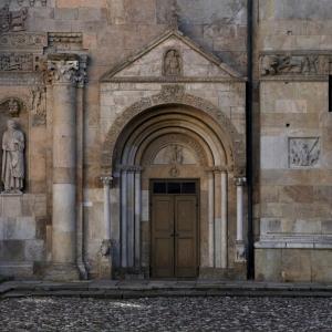 Portale Cattedrale di Fidenza by Andrea Samaritani