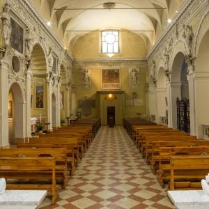 Chiesa di Santa Maria degli Angeli, Brisighella_interno by anonimo