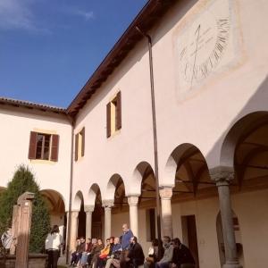 Monastero S.Maria della Neve Torrechiara Chiostro by Assapora Parma