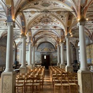 Biblioteca monastica by Martina Anelli