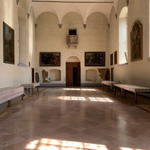Refettorio Monastero by Martina Anelli