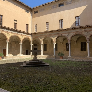 San Giovanni's cloister by Martina Anelli