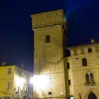 Torre delle Prigioni di Castelvetro di Modena di notte
