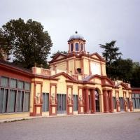 Palazzina Vigarani, facciata in tre quarti