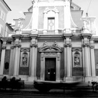 San Giorgio bianco e nero