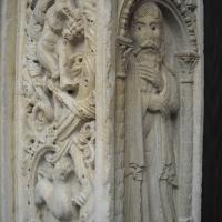Duomo di Modena, stipite del portale centrale foto di Giuch86