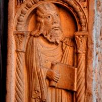 Decorazione Portale Centrale, Profeta foto di Chiara Salazar Chiesa