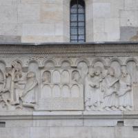 Duomo modena estero particolare facciata balcone foto di Manesti