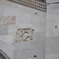 Duomo modena estero facciata particolare photo by Manesti