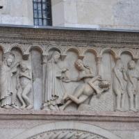 Duomo modena estero bassorilievo foto di Manesti