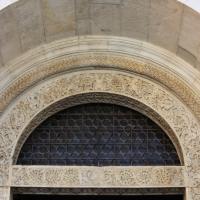 Dettaglio dell?architrave del portale della facciata del duomo di modena 2 by Mongolo1984