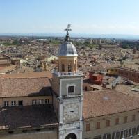 Il Palazzo Comunale dalla Torre Civica
