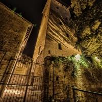 Torre dei Bolognesi - Museo di Nonantola - Torre dei Bolognesi - notturno foto di: |Giovanna molinari| - w