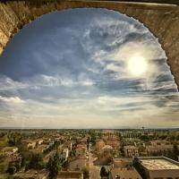 Torre dei Bolognesi - Museo di Nonantola - Panorama - Veduta dalla Torre dei Bolognesi foto di: |Giovanna molinari| - w