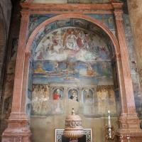 Artisti di scuola modenese, giudizio finale, finto polittico, profeti e santi, xv secolo, 01