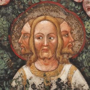 Rocca di Vignola - Cappella Contrari, L'Albero della Vita con il Volto tricefalo di Gesù simbolo della Trinità foto di: |Ghigo Roli| - Fondazione di Vignola