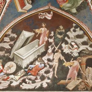 Rocca di Vignola - Cappella Contrari, Lunetta della Resurrezione e della Discesa al Limbo di Cristo foto di: |Ghigo Roli| - Fondazione di Vignola