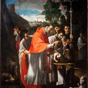 ludovico carracci, san Carlo by marco stucchi