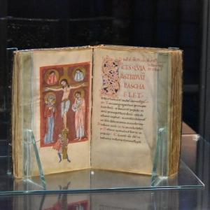 miniatura Evangelistario di Matilde di Canossa by riccio mauro
