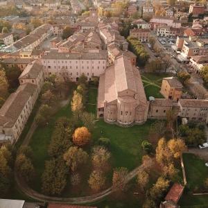 veduta basilica esterno drone by riccio mauro