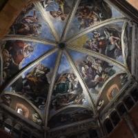 Duomo di Piacenza. La cupola del Guercino by Mantovanim Raffaella