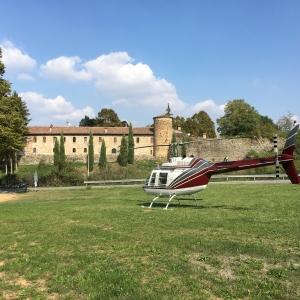 Castello di Rivalta - Veduta del borgo foto di: |Giulia Pilotta| - Fondazione Zanardi Landi