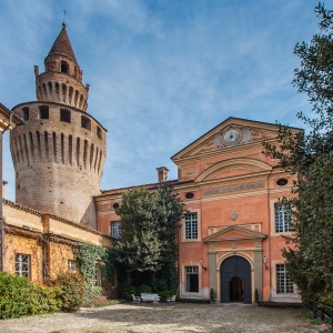 Castello di Rivalta - L' ingresso del castello foto di: |Bertuzzi Simone| - Fondazione Zanardi Landi