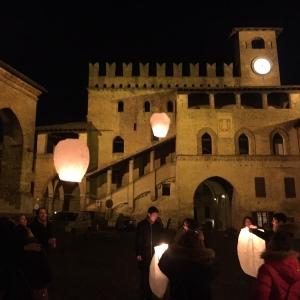 Rocca Viscontea - Podestà lanterne foto di: |Ufficio Turistico di Castell'Arquato| - Ufficio Turistico di Castell'Arquato