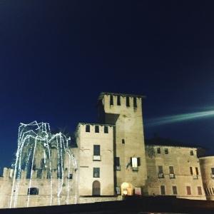 Rocca Sanvitale - La Rocca Sanvitale durante Feste Natale e Capodanno foto di: |Francesca Maffini| - Museo Rocca Sanvitale - Castelli del Ducato
