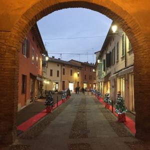 Rocca Sanvitale - Il Borgo di Fontanellato a Natale foto di: |Museo Rocca Sanvitale di Fontanellato| - Museo Rocca Sanvitale di Fontanellato