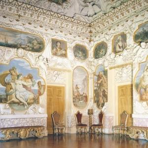 Rocca Meli Lupi di Soragna - Sala degli Stucchi foto di: |Todaro| - Archivio Rocca