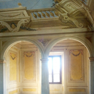 Reggia di Colorno - Particolare Osservatorio appartamento del Duca Ferdinando di Borbone foto di: |Reggia di Colorno| - Reggia di Colorno