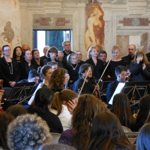 Castello di Torrechiara - Castello di Torrechiara, lezione concerto foto di: |Michela Corradi| - Comune di Langhirano