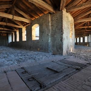 Castello di Montechiarugolo - I camminamenti di ronda foto di: |Luca Trascinelli| - Luca Trascinelli