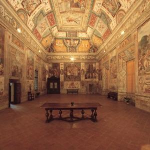 Rocca dei Rossi - Sala delle Gesta rossiane foto di: |Comune San Secondo| - Archivio fotografico del castello