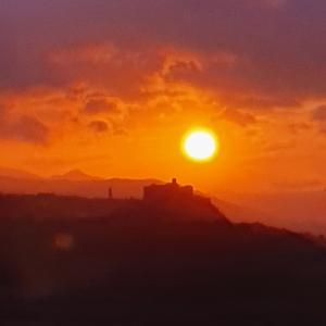 Fortezza di Bardi - Incendio foto di: |Manuela Strinati| - Dipendente