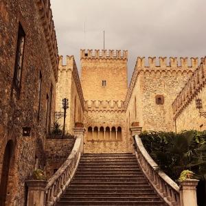 Castello di Tabiano -  foto di: |Castello di Tabiano, terrace| - Castello di Tabiano