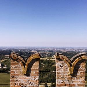 Castello di Tabiano - La vista sulla Pianura foto di: |Castello di Tabiano| - Castello di Tabiano