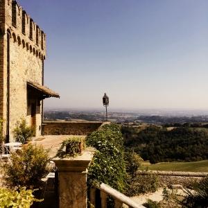 Castello di Tabiano - Vista panoramica foto di: |Castello di Tabiano| - Castello di Tabiano