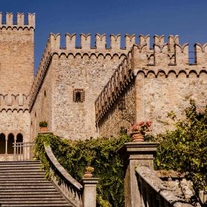 Castello di Tabiano - Le terrazze e la torre del Castello foto di: |Castello di Tabiano| - Castello di Tabiano