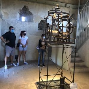 Rocca dei Terzi - Meccanismo orologio da torre foto di: |Sara Tonini| - Sara Tonini