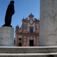 Chiesa del Suffragio vista dal Monumento di Baracca