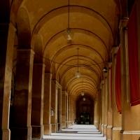 Loggiato interno del Pavaglione