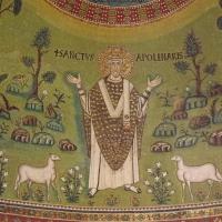 Particolare di Sant'Apollinare, mosaico absidale foto di Cristina Cumbo