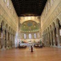 Navata centrale - Sant'Apollinare in Classe foto di Chiara Dobro