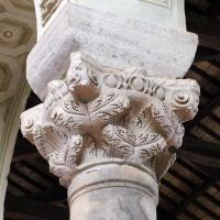 Sant'apollinare in classe, interno 02 capitello bizantino by Sailko