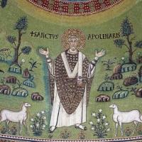 Sant'apollinare in classe, mosaici del catino, trasfigurazione simbolica, VI secolo, 15 s. apollinare foto di Sailko