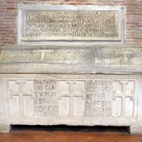 Sant'apollinare in classe, interno, sarcofagi ravennati 03, VI-VII secolo ca by Sailko