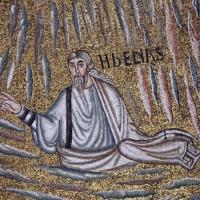 Sant'apollinare in classe, mosaici del catino, trasfigurazione simbolica, VI secolo, 06 elia by Sailko