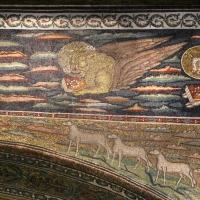 Sant'apollinare in classe, mosaici dell'arcone, cristo benedicente tra i simboli degli evangelisti (IX sec.) 05 marco by Sailko